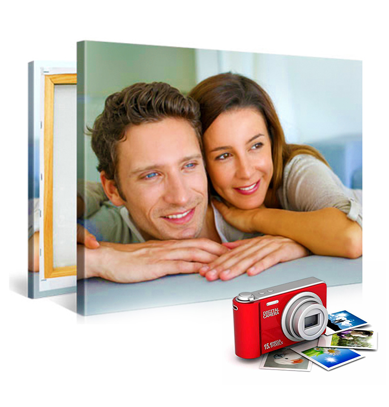 personalizza grafica canvas e personalizzare foto canvas